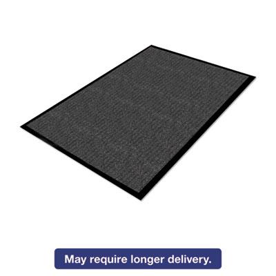 Grey 3x10 Guardian Platinum Series Indoor Wiper Floor Mat Rubber with Nylon Carpet